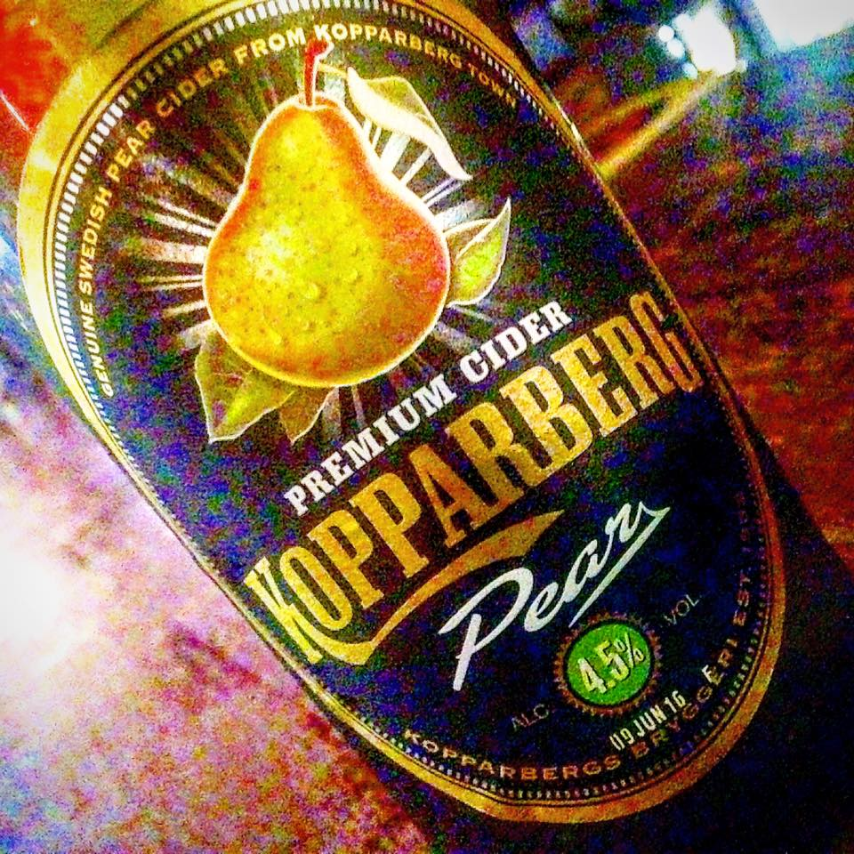 Koppaberg Pear Cider was sweet...like a wine cooler!