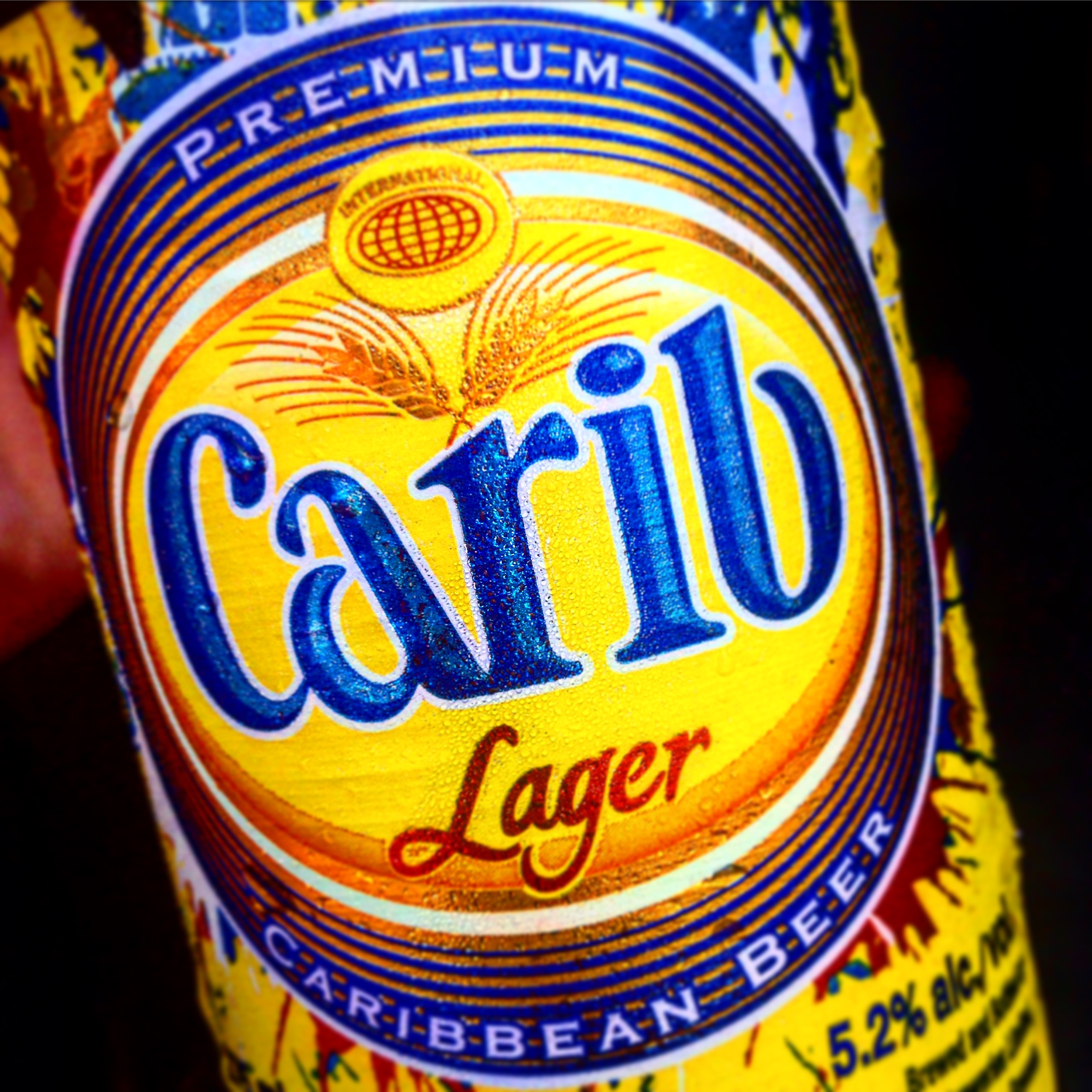 Ice cold Carib