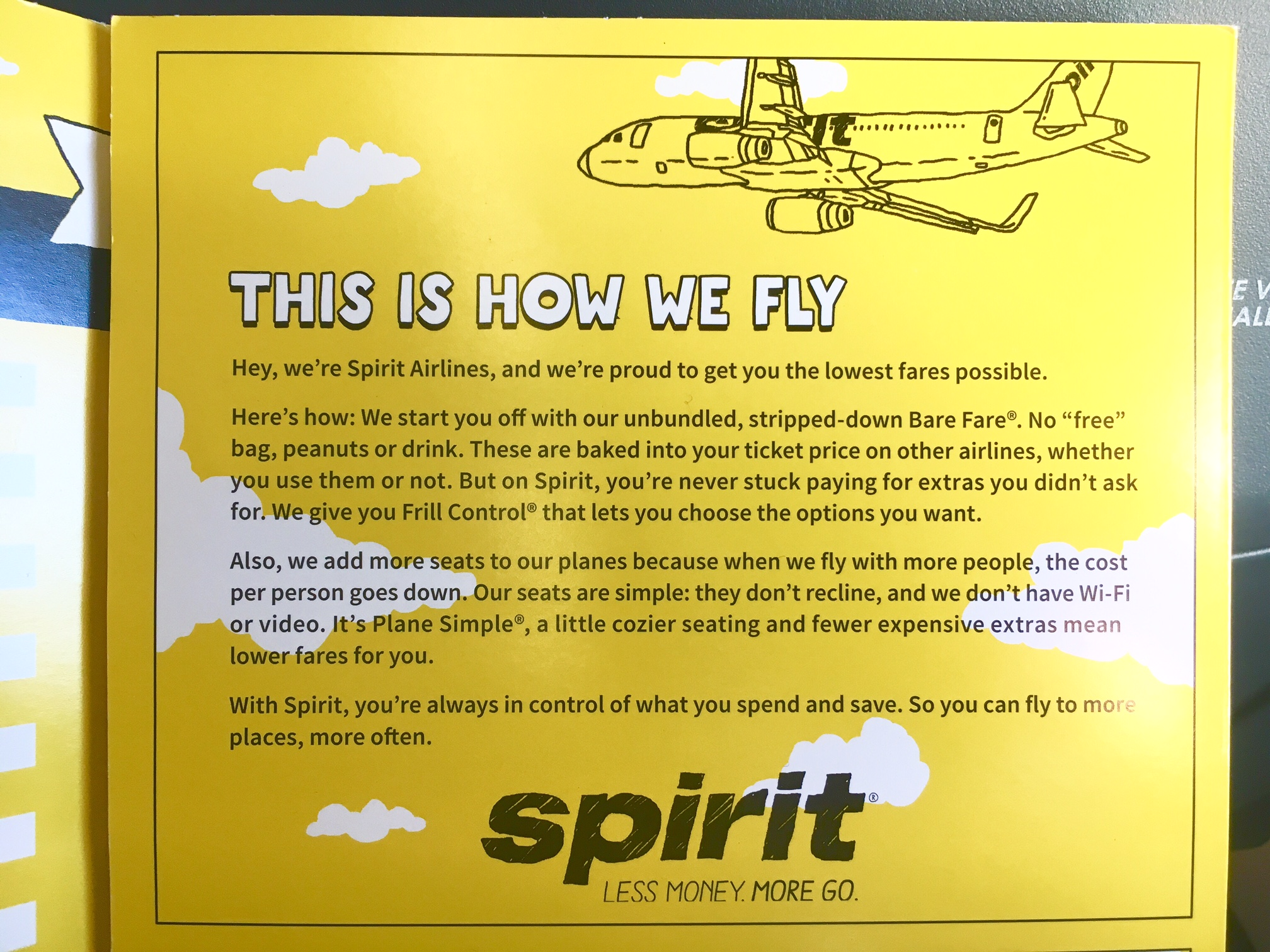 My first flight on spirit airlines and i lived to tell for Spirit airlines ticket prices