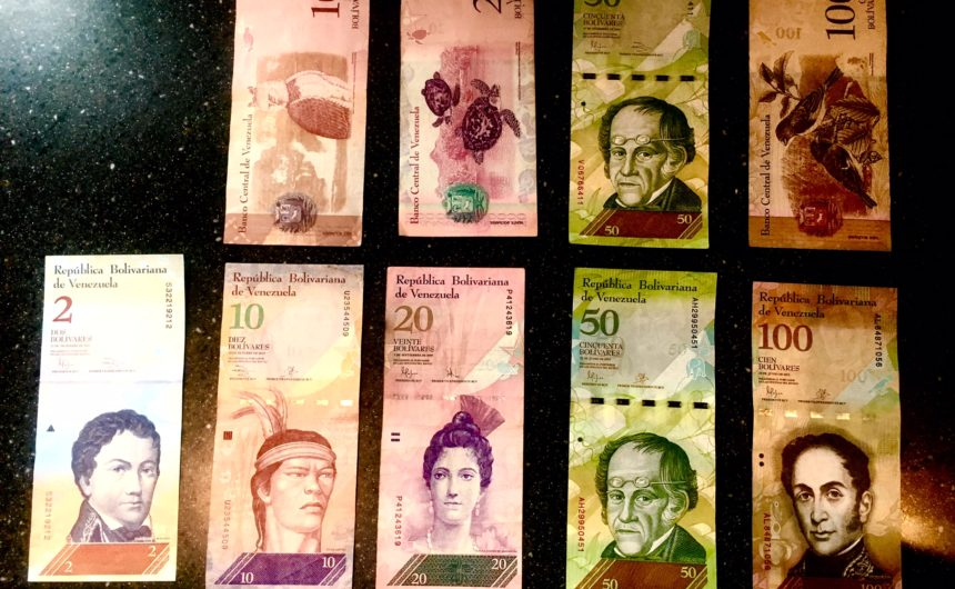 exhange-money-in-venezuela-bolivares-safe