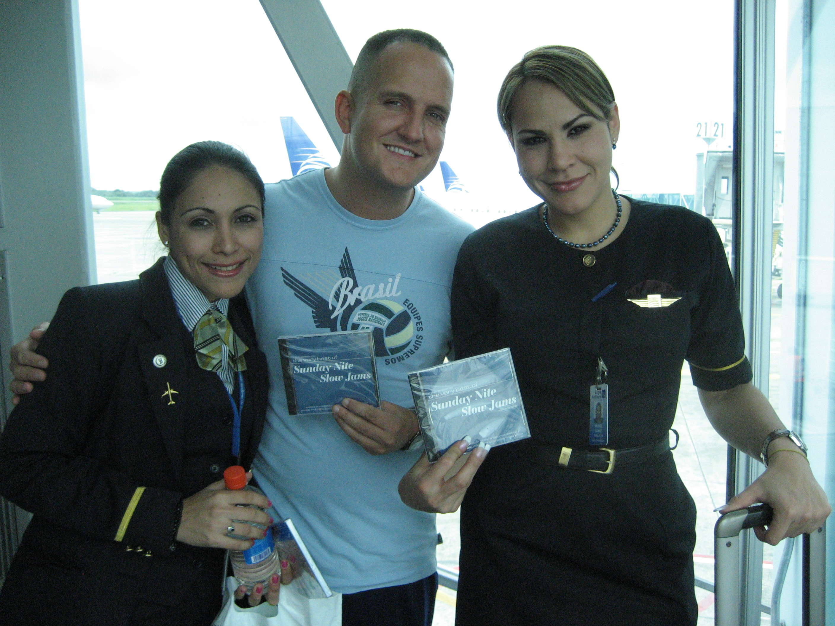 The lovely flight attendants of Copa Airlines - Panama